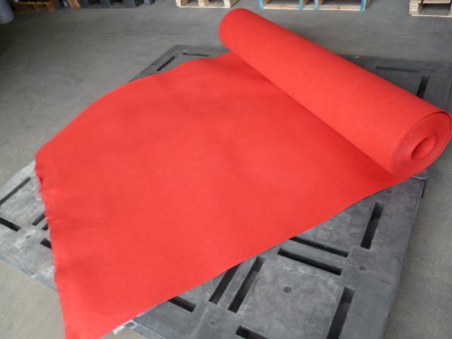 【パンチカーペット】 赤 182cm幅×30m