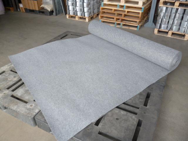 【パンチカーペット】 グレー 182cm幅×30m