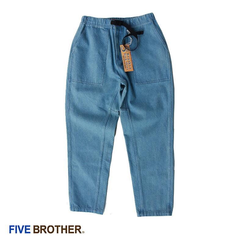 DENIM BAKER CLIMBING PANTS 151914D 11ozデニム クライミングパンツ FIVE BROTHER ファイブブラザー ワークパンツ