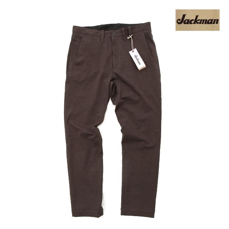 Jackman ジャックマン Stretch Trousers ストレッチトラウザー Sumikuro スミクロ JM4780 スラックスのようなスウェット☆