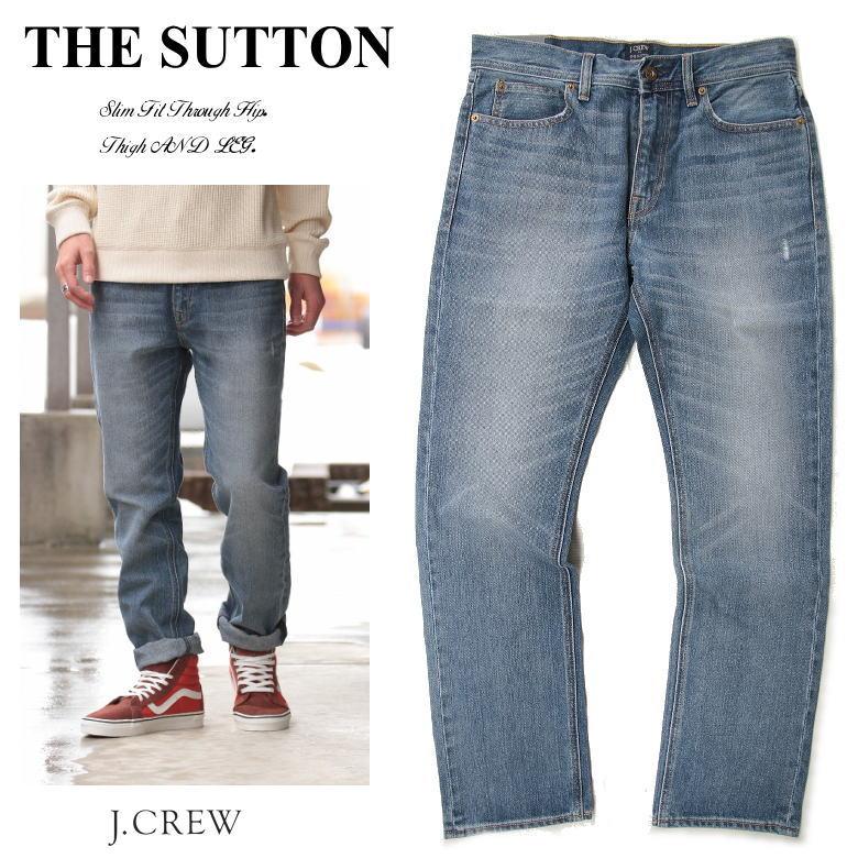 J.CREW デニムパンツ THE SUTTON jean in Light wash ライトウォッシュ DENIM ジェークルー