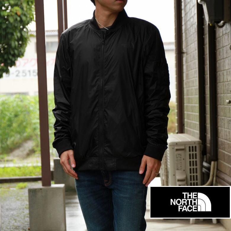 THE NORTH FACE ノースフェイス メンズ ナイロンジャケット MA-1 BLACK ブラック アメリカ買い付け品♪