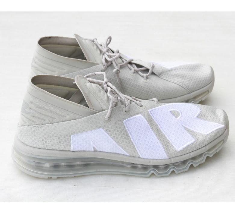 NNIKE AIR MAX FLAIR Light Bone /942236-005 (NIKE/ナイキ/スニーカー/アッシュ ホワイト)春先におススメの靴