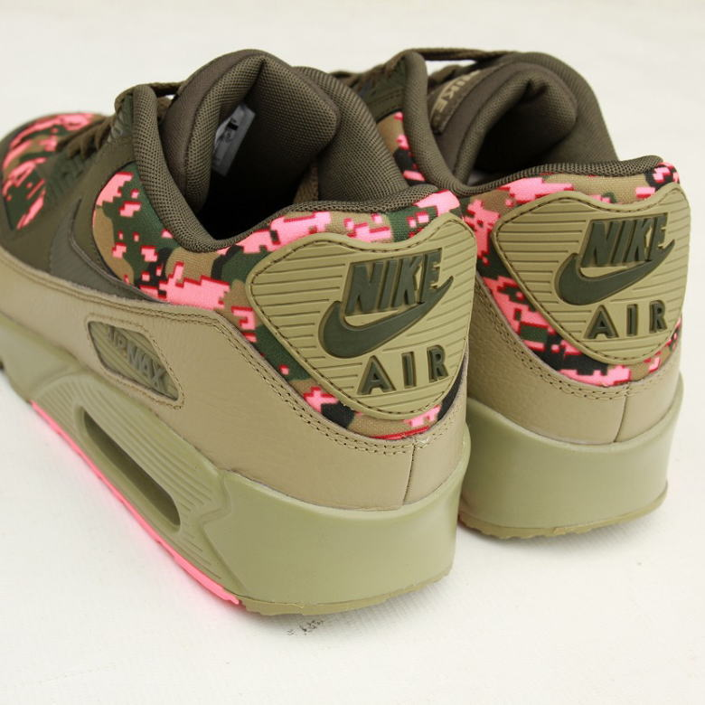 NIKE AIR MAX 90 United States buying product sneakers DIGI CAMO OLIVE AH8440 300