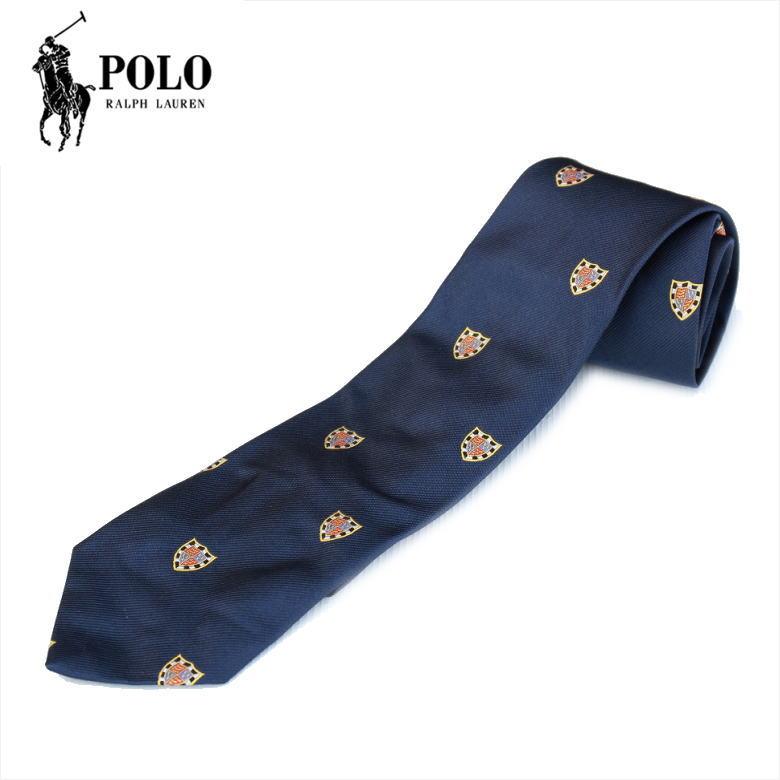 Polo Ralph Lauren ポロラルフローレン NECKTIE ネクタイ NAVY プレゼントにもおススメ!イタリア製 ハンドメイド