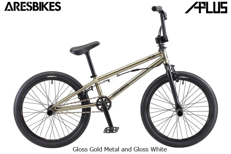 2018モデル ARES BIKES APLUS ゴールドメタル Gloss Gold Metal and Gloss White