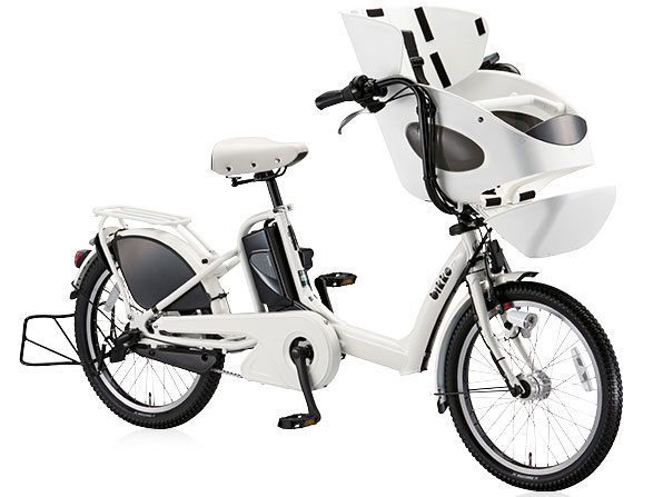 BRIDGESTONE ブリヂストン bikke POLAR e ビッケ ポーラーe 3段変速付き 子供乗せ電動自転車 BP0D37