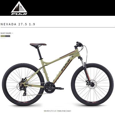 2019モデル Fujiフジ NEVADA 27.5 1.9