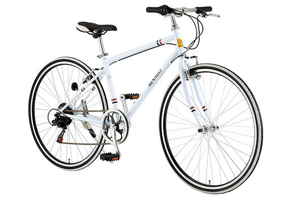 【2018モデル RENAULT ルノー CRB7006S】700Cクロスバイク 軽量アルミフレーム・外装6段変速・シンプルデザインモデル