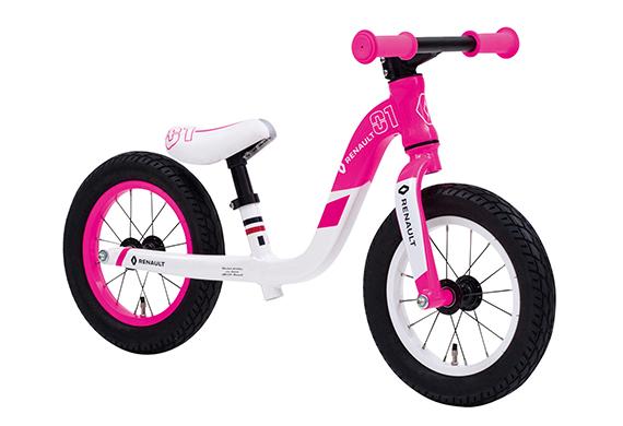 【2018年モデル RENAULT ルノー ULTRA LIGHT TRAINEE(ウルトラライトトレーニー)】12インチ幼児用自転車 キックバイク 超軽量3.5kg!・軽量アルミフレーム