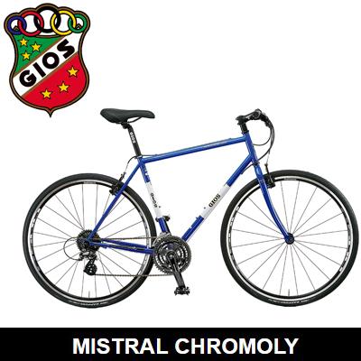 2018モデル GIOS ジオス MISTRAL CHROMOLY ミストラルクロモリ クロスバイク