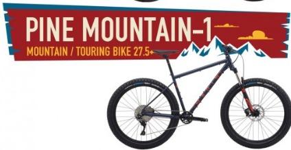MARINBIKES マリンバイク 2019年モデル PINE MOUNTAIN 1
