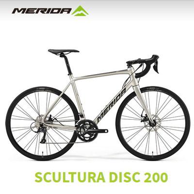 2019年モデル ロードバイク メリダ MERIDA SCULTURA DISC 200