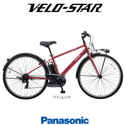 VERO-STAR ベロスター 2018モデル BE-ELVS77 パナソニック電動スポーツバイク