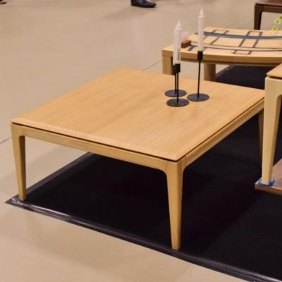 【NOTICAオンリー商品】 DDTable こたつテーブル 85 丸みのあるフォルム シンプルスタイル ブラウン ナチュラル 正方形 こたつ コタツ 炬燵 おしゃれ 天板が凄い 当店オンリー WOODPRODUCT 日本製 ウォールナットは脚WN無垢材 85角 新生活