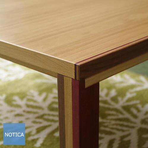 ヒーター無し CUERO クエロ 105 こたつテーブル Takatatsu ナラ 北欧テイスト クエロ 季節問わず、リビングテーブルとしても使えます。脚までこだわりました 国産 タカタツ 北欧テイスト