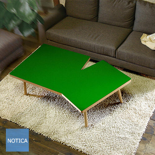 Fabrica ファブリカ 135変形こたつ こたつテーブル Takatatsu モダンテイスト マットなグリーン塗装 センターテーブルとしてもお使い頂けます 国産 タカタツ 少し大きめサイズ 4人用