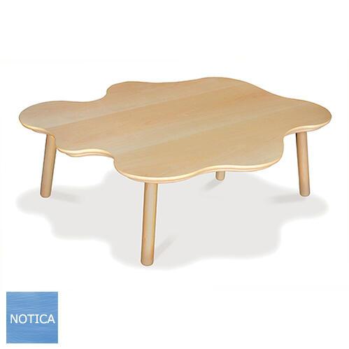 ヒーター無し Norco ノルコ 110変形 ローテーブル テーブルこたつ ビーチ突板 人工芝生付き 脚はビーチ無垢 明るいナチュラル 北欧モダン 小物をディスプレイできるテーブル