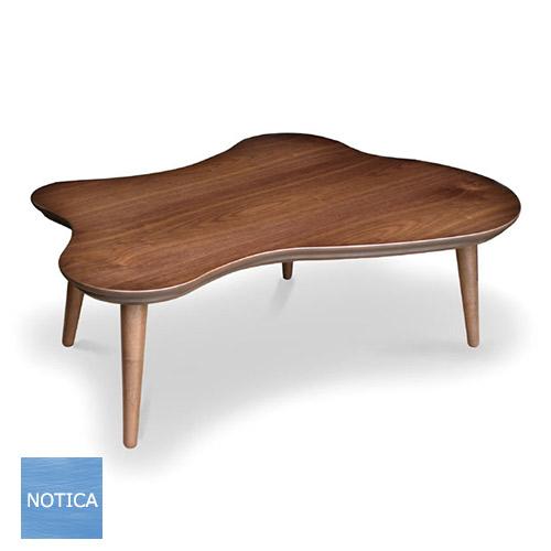TAMARI 変形 こたつテーブル ウォールナット/メープル ジャパニーズ 北欧テイスト 国産 日本製 こたつソファテーブル 変形 池の様な形のこたつ 炬燵
