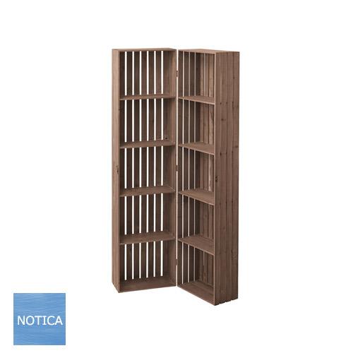 開閉型ボックスシェルフ幅40cm~80cm コーナーシェルフ ブックシェルフ リビング収納 天然木杉使用 収納家具 ディスプレイ収納