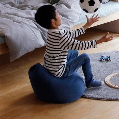 キッズクッション キッズチェア クッション 椅子 NEW ARRIVAL 座椅子 いす イス グレー ブルー 可愛いフォルム 発売モデル ソファクッション 背もたれ 子供部屋 イエロー