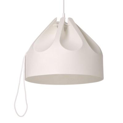 一枚の素材を折ったランプ 可愛いランプ シンプルスタイル