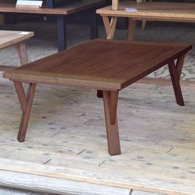 Y字脚のこたつテーブル 105 こたつ オーク木材 エイジング加工 こたつテーブル コタツ 炬燵 本物の木の質感 手作りこたつ 座卓 高級志向 センターテーブル 座卓 ソファテーブル 新生活