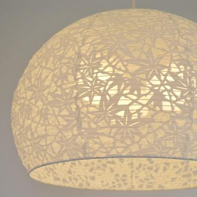 和紙ライト 球形ライト 本物の和紙ペンダントライト 植物のモチーフ 紅葉 椿 天井照明 リビング 寝室などにも 優しい光 和室 和照明 新生活