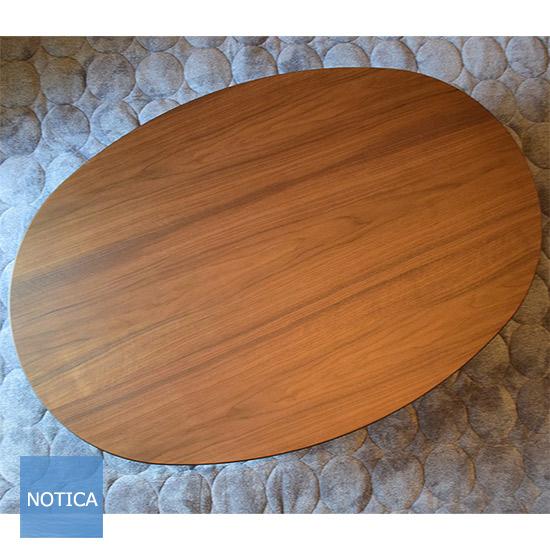 new!スタースポット 国産 天然木ウォールナット材 こたつ150 オーバル ブラウンカラー 大きめ 楕円天板 和洋のお部屋に似合うこたつテーブル継脚あり 大き目 4~6人向 炬燵 コタツ リビングテーブル ローテーブル おしゃれ