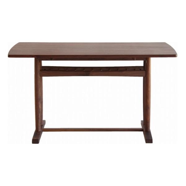 アーブル ダイニングテーブル くつろぎスタイル ブラウン 足元の空間が広い 素材感のある仕上がり ウォールナット ダイニング リビング 北欧 シンプルだけどスタイリッシュ モダン