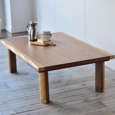スート みみつきこたつテーブル 150 二色天板 ツートーンこたつ 素朴なデザイン 継脚付きで便利なこたつ ローテーブル 座卓 コタツ 炬燵 テーブル ナチュラル ブラウン ウォールナット 新生活