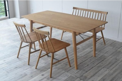 ダイニングテーブル シンプルダイニング 160 ワイド シンプルで暖かみのあるデザイン 落ち着いた色 スマートなデザイン 引き出し付き 北欧 機能的 長方形 大きめ