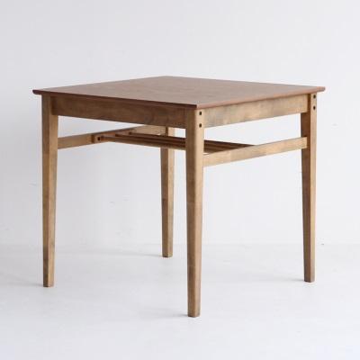 棚板付きダイニングテーブル 正方形 ソフトビンテージスタイル 懐かしさを感じるスタイル ダイニングテーブル レトロ 新生活