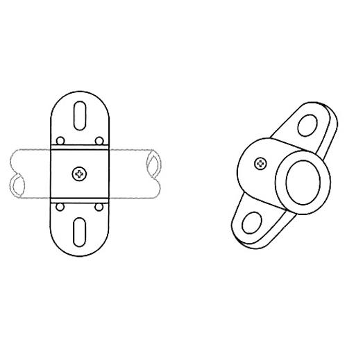 かん太 8-1W 両ボルト止金具 48個セット