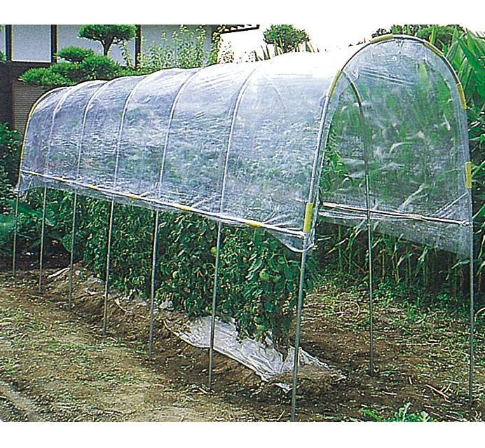 雨よけハウスA-15セット ( ハウス栽培 ガーデニング 野菜づくり 家庭菜園 ビニル ビニール ハウス ビニールハウス ビニルハウス 雨よけ 雨除け 園芸用品 農業用資材 農業資材 )
