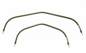 菜園アーチパイプ 20mm×長さ166cm×肩幅120cm 20本