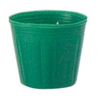 カラーポット 7.5cm 緑 6000枚
