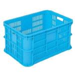 収穫容器リステナー MB-30 青 長さ615mmx幅424mmx高さ312mm 容量66L 6ヶセット