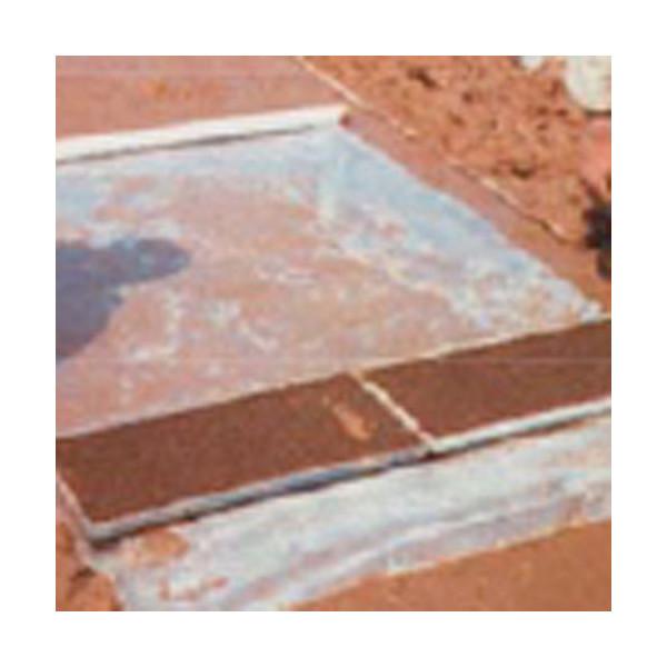 全面有孔ポリ 長さ100m×厚さ0.03mm×幅180cm 3本セット