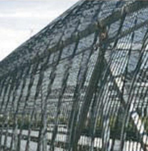 遮光ネットラッセル クリアランスsale お買得 期間限定 ロール 2m×50m 銀 50%手軽で安価な遮光ネットです