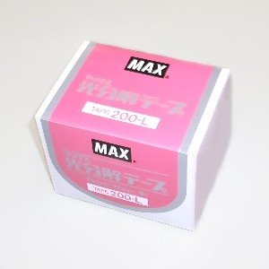 買い物 テープナー用光分解テープ 10巻入 200-L ピンク 11mm×19m 格安店