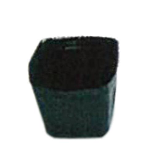 ポリポット黒 角 口径7.5cm×高さ6cm 5000枚