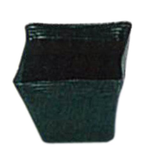 ポリポット黒 角 口径12cm×高さ10cm 1600枚
