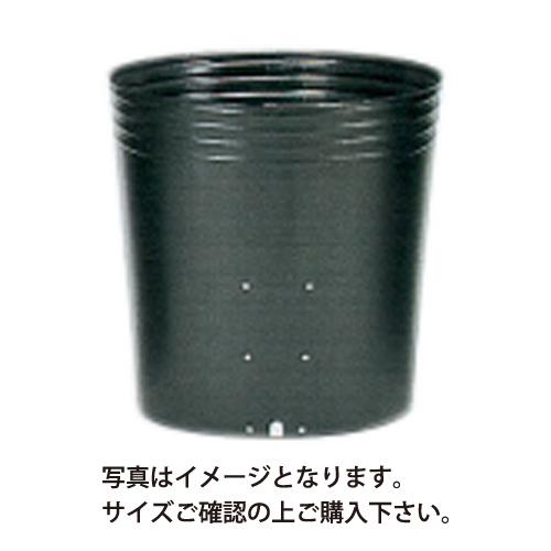 ポリポット黒丸 側面穴 口径16.5cm×高さ13.7cm×24穴 800枚