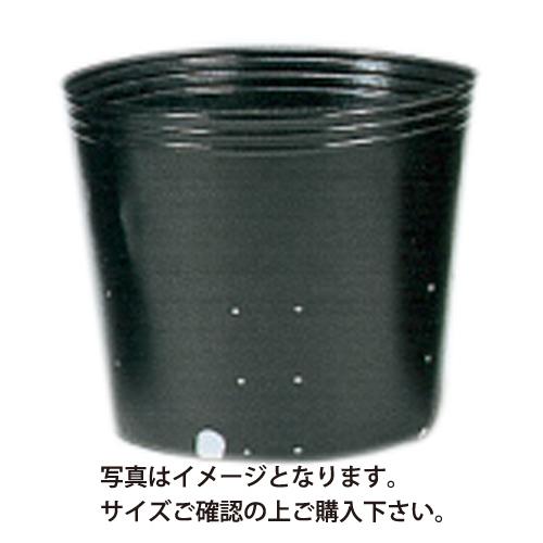 ポリポット黒丸 側面穴 口径21cm×高さ21cm×24穴 400枚