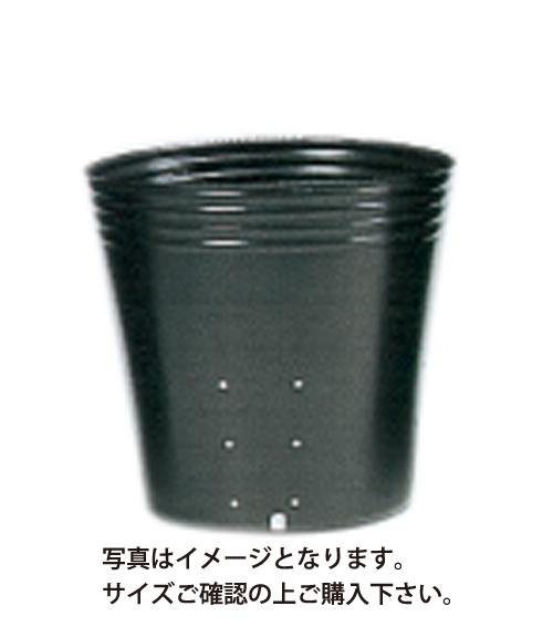 ポリポット黒丸 側面穴 口径10.5cm×高さ9cm×12穴 3000枚