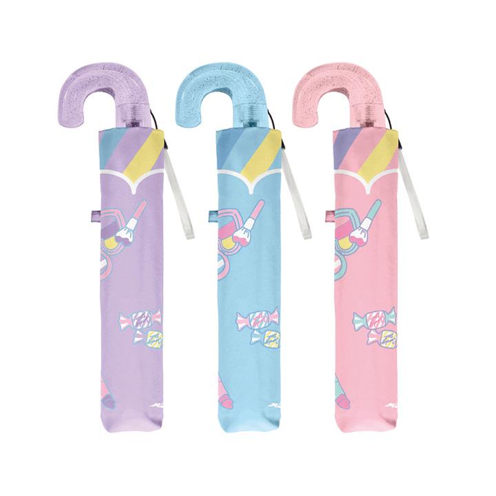 記念品のプレゼントに人気の子供用折りたたみ傘 折りたたみ傘 新作 かわいい子供用 女の子 メローライト 国内正規総代理店アイテム 軽量 子供用記念品 クラックス