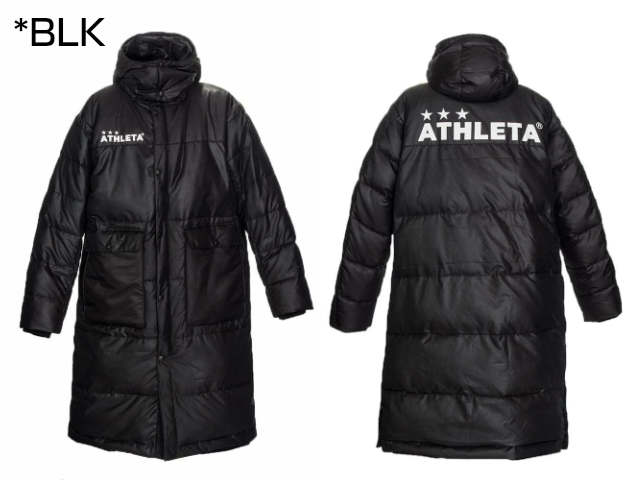 Jrベンチコート 04129J アスレタ 大人用 メンズ レディース コート 冬物