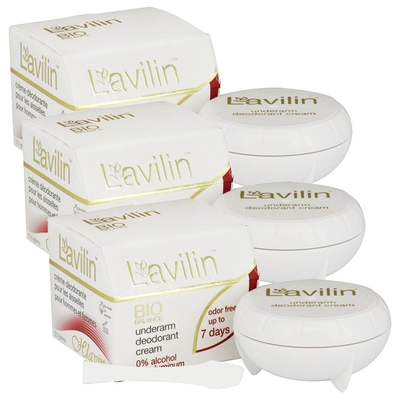 NOW Foods公式ストア ラヴィリン アンダーアームクリーム 年末年始大決算 ワキ用 業界No.1 デオドラントクリーム 12.5g 3個セット deoderant underarm cream 3sets Lavilin
