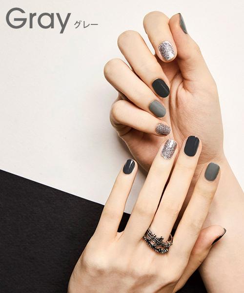 NANING9 (ナンニング) gel nail sticker Korean Korean fashion gel nail seal nail  sticker nail art self,nail nail seal simple nail simple ネイルナンニング